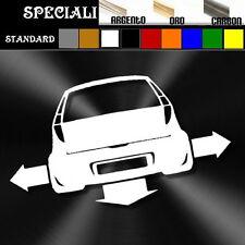adesivo sticker fiat PUNTO 2 MK2  tuning down-out dub prespaziato,auto decal