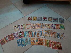 Autocollant Merlin Pokemon Plus De 80 Cartes