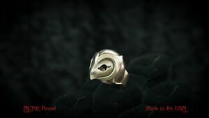 Phantom of the Paradise .925 Silver Helmet mask Ring by ACME Brand skull death