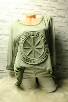 Italy New Collection Shirt Pulli Vintage 36 38 40 42 khaki 3D Stern blogger