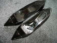 Orig.BAGATT -eleganter schwarzer Lacklederpumps  Gr.38 fast neu