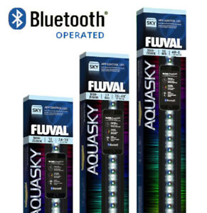Fluval Aquasky 2.0 LED Bluetooth Lighting Unit App Controlled Aquarium Fish Tank
