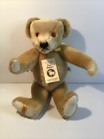 Merrythought mohair jointed humpback teddy bear growler, limited edition England