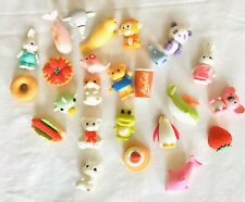 animal shapes eraser 3-D Shaped Funny Toys School Supplie Collectible 27 Pcs