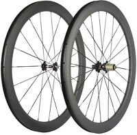 50mm U Shape Clincher Wheelset Novatec 271 Hub 25mm Width Cyclocross Bike Wheels