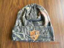 MIP-S/A Beanie: Mossy Oak Orange with sewn in S/A logo