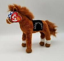 Ty Beanie Babies Secretariat - EXCELLENT CONDITION -  Unusual Ty Tag