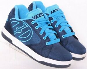 Heelys 770974 Propel 2.0 Navy Lace-Up Rolling Wheeled Skate Shoes Youth US 5