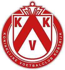 "KV Kortrijk FC Belgium Football Soccer Car Bumper Sticker Decal 4.6""X4.6"""