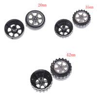 2 x ruedas de goma neumáticos coche camión modelo 20/35/42 mmK
