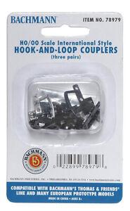 NEW Bachmann Thomas Hook & Loop Couplers (6) HO Scale BAC78979