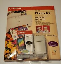 CANON BC-22 PHOTO KIT WITH BC-22 PHOTO CARTRIDGE 60 SHEETS PHOTO PAPER Computers