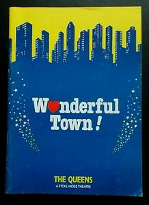 Wonderful Town! programme Queen's Theatre 7.1986 Maureen Lipman Ray Lonnen