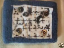 Nuevo Dos Muñeca azul, sudadera bandas con el parche Y Tachas