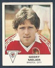 -#283- BRISTOL CITY TOPPS-FOOTBALL GEOFF MERRICK ORANGE BACK 1978