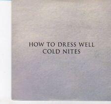 (DI52) How To Dress Well, Cold Nites - 2012 DJ CD