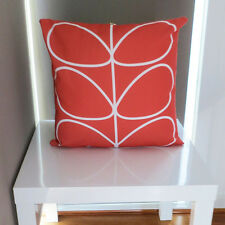 Pink and White leaf Print Scatter Throw Cushion Cover 45 x 45 Modern Design