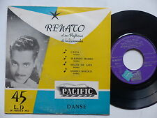 RENATO Ses rythmes de la Macumba Cuca Silbando mambo ... EP 90011 B