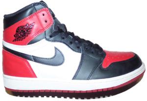2018 Jordan Bred Toe 1 (Size 9.5) 555088-610 Read Description