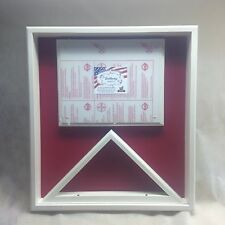 White Painted 3x5 FLAG DISPLAY CASE (Made In Wisconsin)
