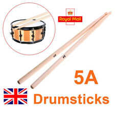 2 Pcs 5A Size Maple Wood Drumsticks Stick for Drum Lightweight Musical Aparts