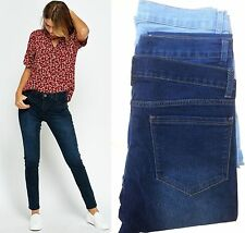 Ladies Jeans Sexy Womens Sand Wash Denim Spandex Jeans Trouser BNWT Size 8 - 18