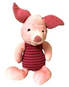 Piglet Plush Toy Pink Stuffed Animal Winnie The Pooh Character 48cm