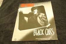 """Gino Vannelli 1985 ad for hit """"Black Cars"""" Canadian rock singer & songwriter"""