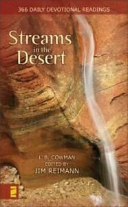 Streams in the Desert: 366 Daily Devotional Readings By Lettie B. Cowman - GOOD