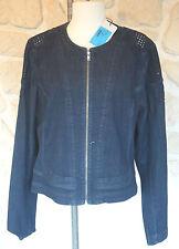 Veste en jeans bleue neuve de marque Eva Kayan taille 40 étiqueté à 239€