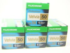 4 x FUJICHROME VELVIA 50 35mm 36 EXP CHEAP SLIDE FILM by 1st CLASS ROYAL MAIL
