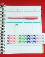 39 Television TV Planner Stickers for All Types of Planners (#189)