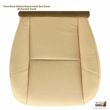 2007 2008 2009 2010 Cadillac Escalade Driver Side Bottom Leather Seat Cover Tan