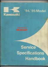 Kawasaki Specifications (94-95) ZX GPX KZ VN KLT KLF KAF ZL KL KX EN KV ZR >>>>
