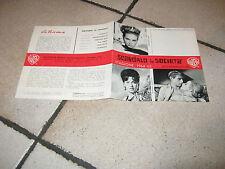 BROCHURE,1965,SCANDALO IN SOCIETA',DELMER DAVES,J.FRANCISCUS,G.PAGE,S.PLESHETTE