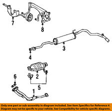 TOYOTA OEM 84-88 Pickup 2.4L-L4 Exhaust System-Front Pipe Gasket 9091706038