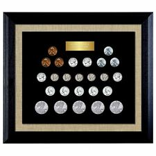 NEW American Coin Treasures World War II Coin Collection in Wood Frame 13957