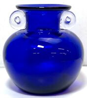 Gorgeous Designs VIntage Cobalt Blue Glass Vase