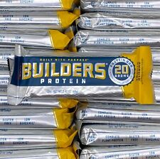 Clif Builders Protein Bar 20G ~ 50 VANILLA ALMOND ~ Free Shipping