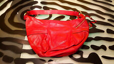 Danier Leather Purse Handbag Good Condition Red