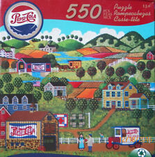 "New PEPSI COLA Jigsaw PUZZLE by Karmin - Pepsi Valley Farm..550 Piece 18"" x 24"""