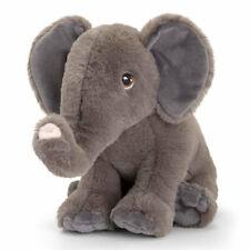 Keel Toys 25cm Elephant Soft Plush Toy Stuffed Animal 12m Kids/children Grey