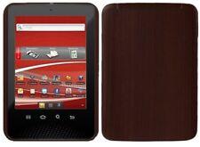 Skinomi Tablet Skin Dark Wood+Screen Protector Film for Velocity Micro Cruz PS47