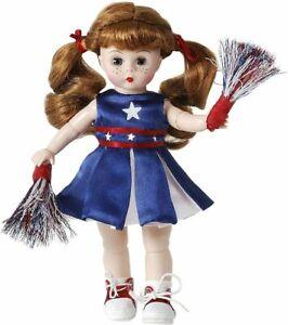 "Madame Alexander #71645 Pom Pom Pep Rally  8"" Doll - New in Box - Retired"