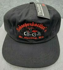 VTG NOS schaeperkoetter Tractor Hat Mens Medium Made USA Ear Flaps Thick Lined