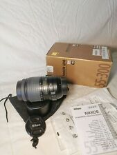 Nikkor Obiettivo 55-300mm f / 4.5-5.6 ED VR Attacco Nikon AF-S DX PERFECT A+++