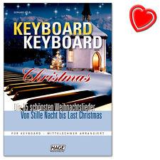 Keyboard Keyboard Christmas - Weihnachtslieder - HAGE - EH3729 - 9783866260665