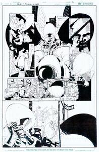 Damian Scott WIZARD 150 SPOILER pg 5 BATMAN SCOUTS SPOILER TO BE ROBIN