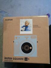 Fujifilm Instax QUADRATO SQ1 Fotocamera Pellicola Istantanea-Glacier Blu
