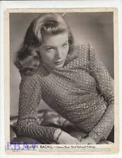 Lauren Bacall sexy busty VINTAGE Photo